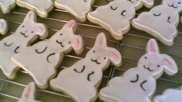 Delilah's Frosted Cut-Out Sugar Cookies