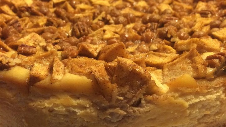 Nickie's Apple-Pecan Cheesecake - Review by Ravenesque - Allrecipes ...
