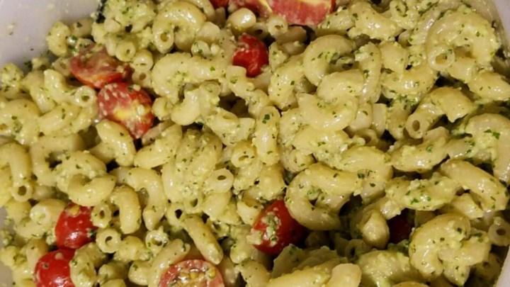 Mint Pesto Pasta