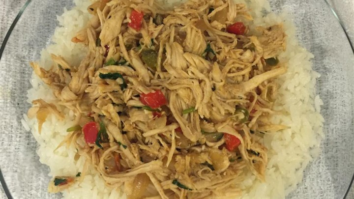 Pollo Mechado (Shredded Chicken)