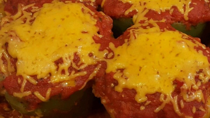 Classic Beef Stuffed Peppers