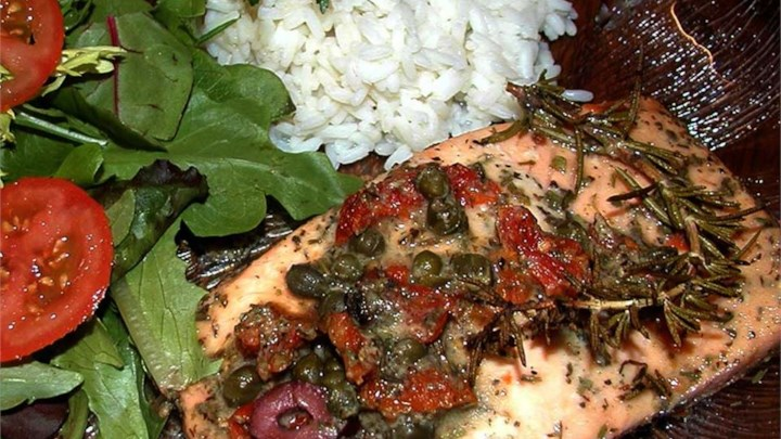 Salmon with Dijon Vinaigrette