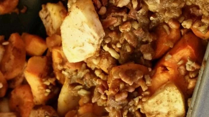 Sweet Potato and Apple Casserole