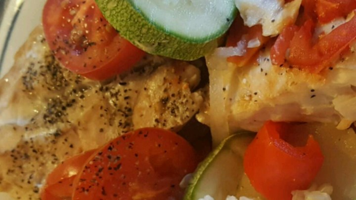 Fish and veggie dish recipe for Fish and vegetable recipes