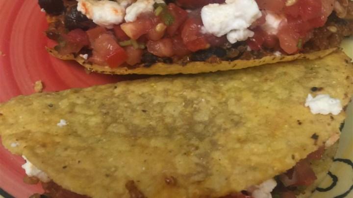 Quinoa Black Bean Tacos (Vegan)