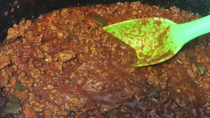 Spicy Slow-Cooked Beanless Chili Recipe - Allrecipes.com