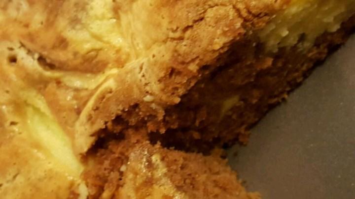 German Chocolate Cheesecake Swirl Cake