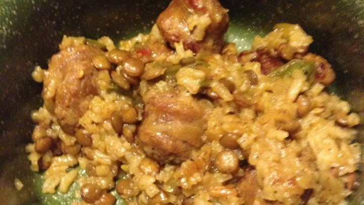 Rice and Lentil Casserole