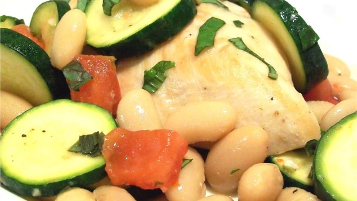 Italian White Bean Chicken