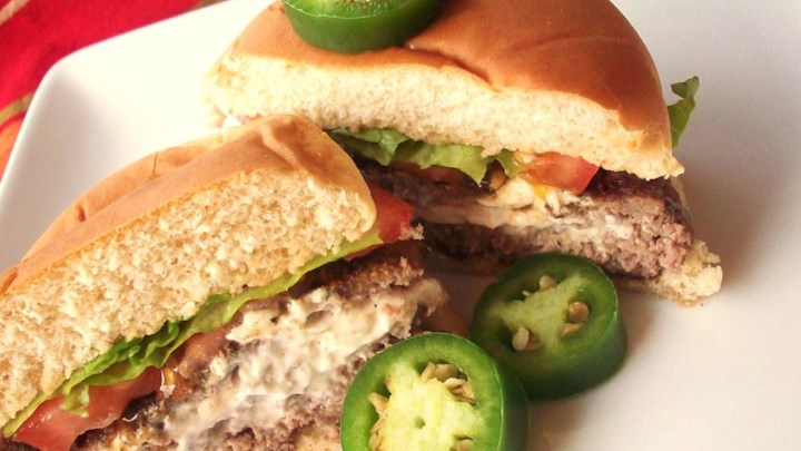Cream Cheese Jalapeno Hamburgers
