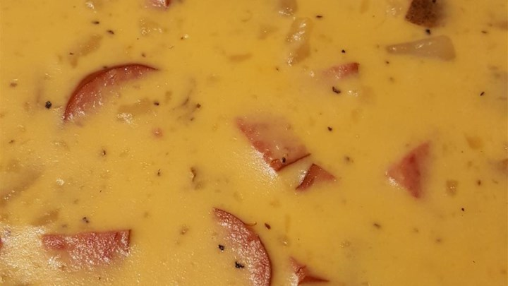 Smoky Potato Cheese Soup