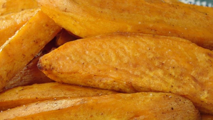 Baked Sweet Potato Sticks Recipe - Allrecipes.com