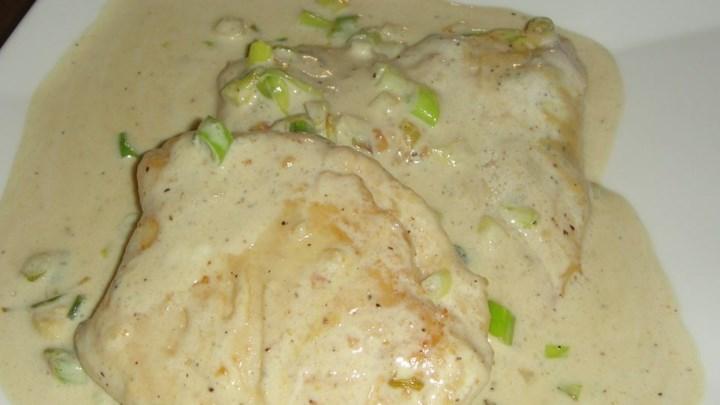 Mushroom Chicken Dijon