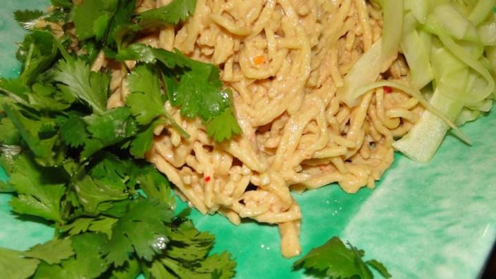Sesame Peanut Noodle Salad