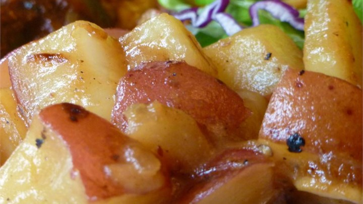 Rosh Hashanah DinnerHoney Roasted Red Potatoes