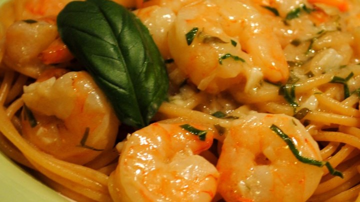 Quick Shrimp Scampi Pasta