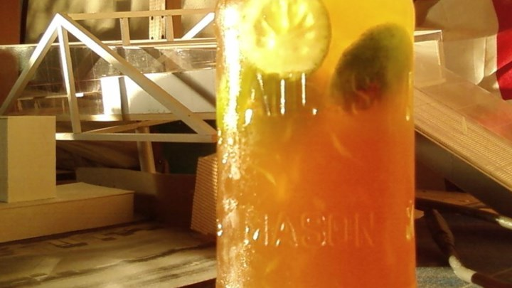 Brown Sugar and Honey Limeade