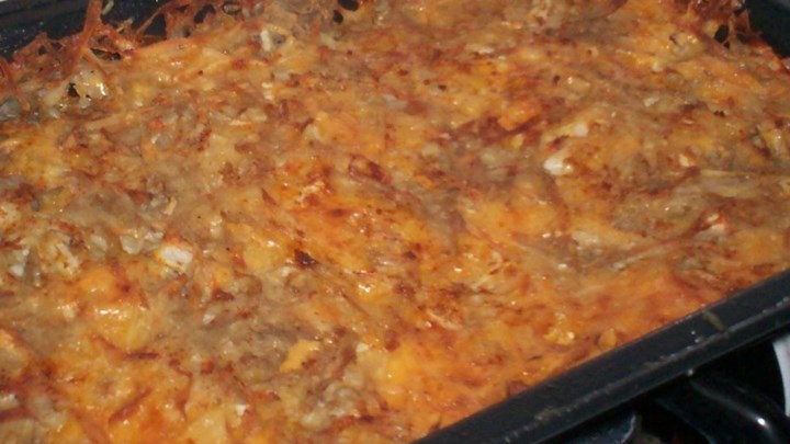 Cheesy Potato Kugel