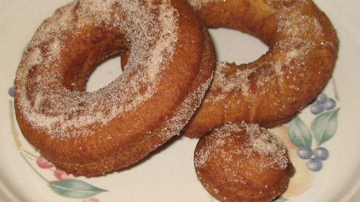 Herman Applesauce Doughnuts