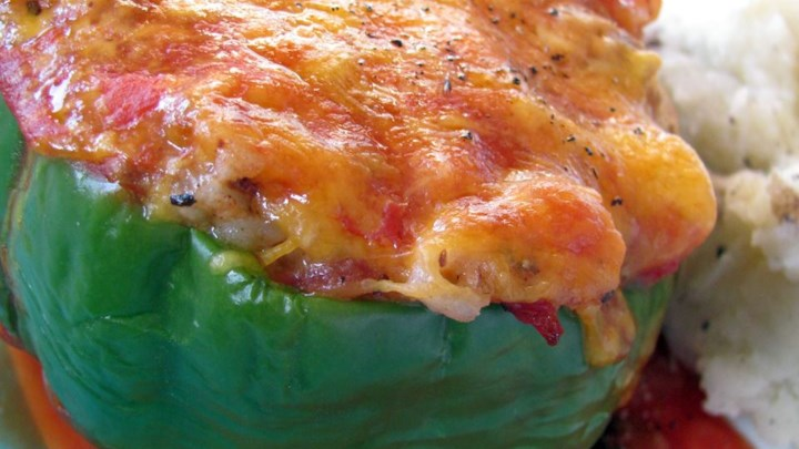 Stuffed Green Peppers I Recipe - Allrecipes.com