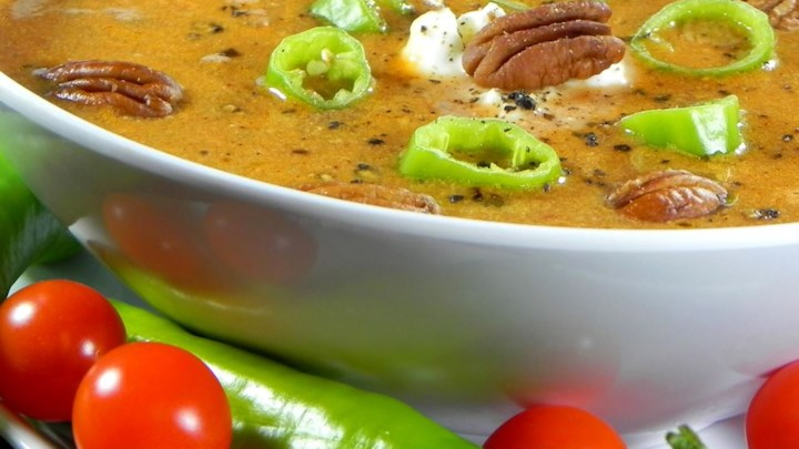 Spicy Pecan Soup