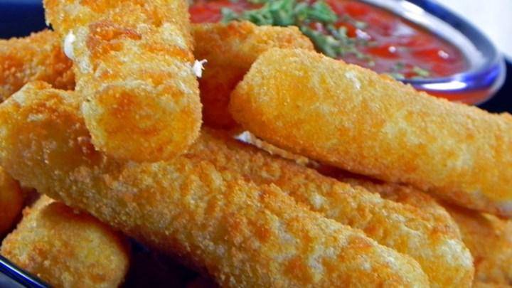 Fried Mozzarella Cheese Sticks Recipe - Allrecipes.com