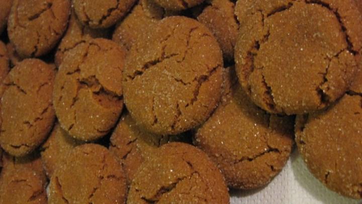 Molasses Cookies II