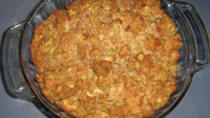 Simmer Family Turkey Stuffing