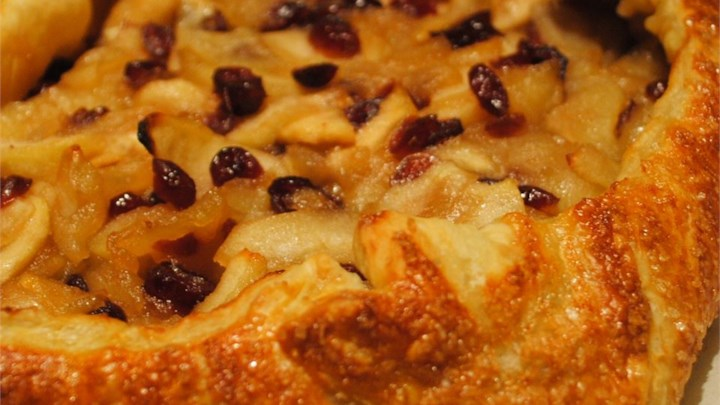 Apple-Cranberry Crostada