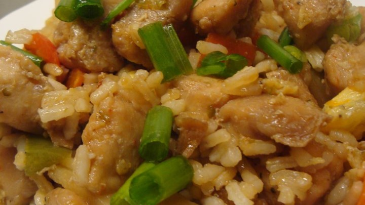 Chinese Chicken Fried Rice I