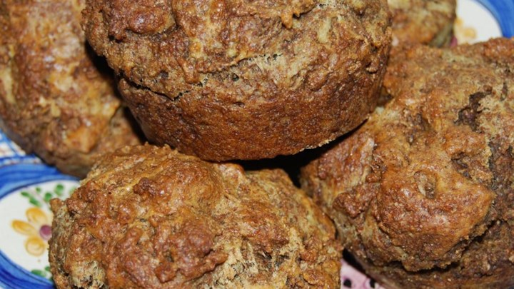Bran Muffins with Coffee