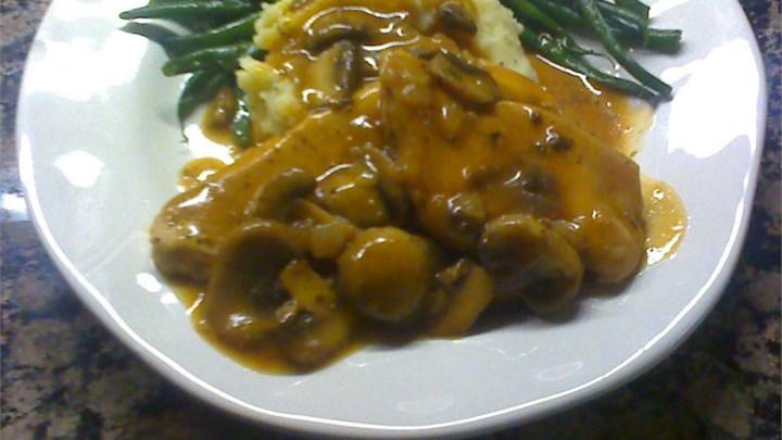 Quick Chicken Marsala