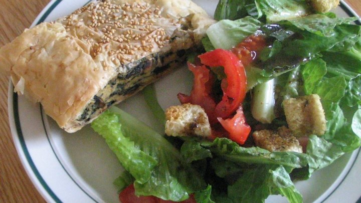 Mushroom, Spinach and Cheese Torta Recipe - Allrecipes.com