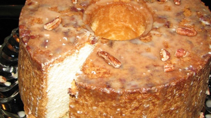 Pecan Sour Cream Pound Cake