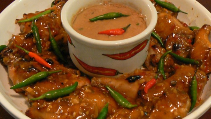 Thai-Style Chicken Wings