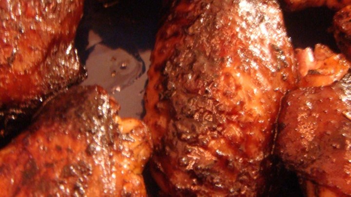 Home-Schooled' BBQ Chicken Wings Recipes — Dishmaps