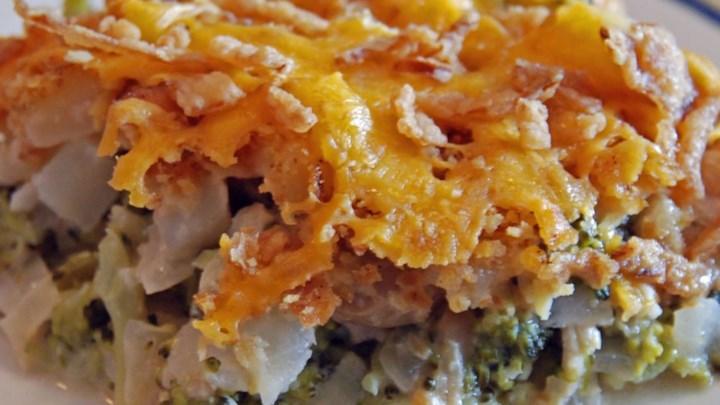 Broccoli Potato Bake