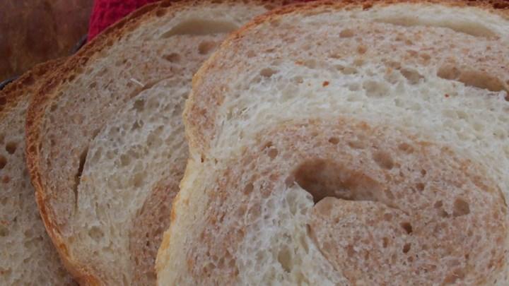 Whole Wheat Swirl Bread