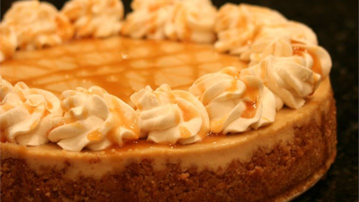 Caramel Macchiato Cheesecake Recipe - Allrecipes.com