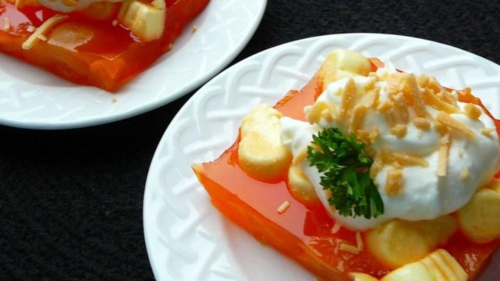 Apricot-Orange Gelatin Salad