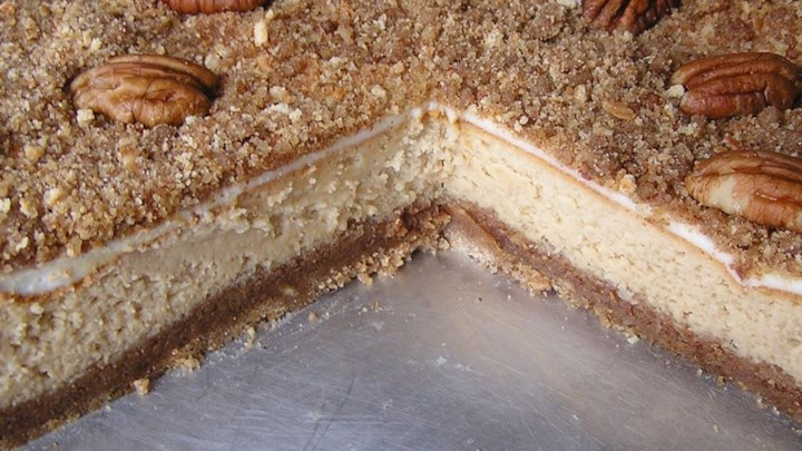 Pecan Cheesecake Recipe - Allrecipes.com