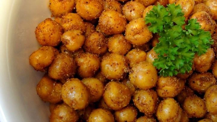 Simple Roasted Chickpea Snack Recipe - Allrecipes.com