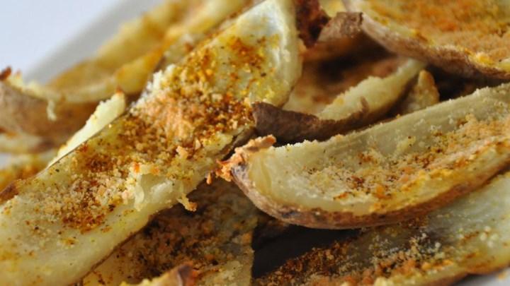 No-Fry Spicy Potato Skins Recipe - Allrecipes.com