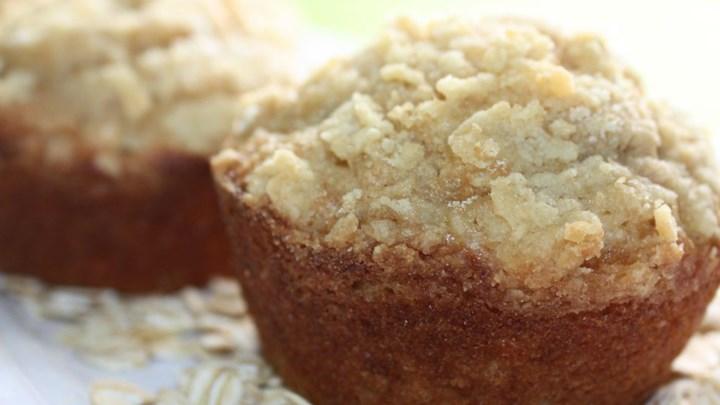 Peanut Butter Banana Muffins