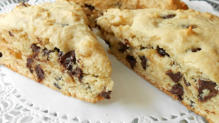 Hazelnut Chocolate Chip Scones Recipe - Allrecipes.com