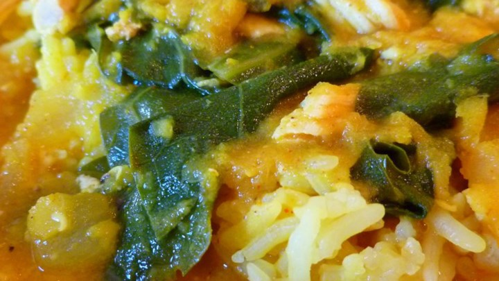 Lentil and Green Collard Soup
