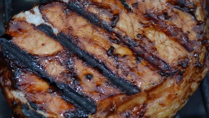 Italian BBQ Pork Chops