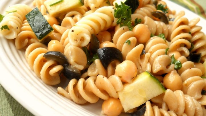 Pasta Chickpea Salad