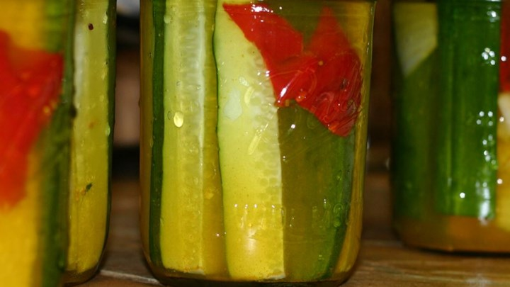 Summertime Sweet Pickles