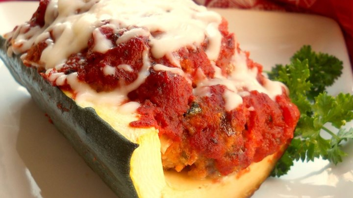 Italian Meatloaf in Zucchini Boats Recipe - Allrecipes.com